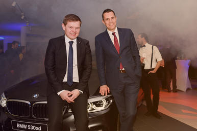 After Work Party bei BMW MINI Unterberger Kufstein