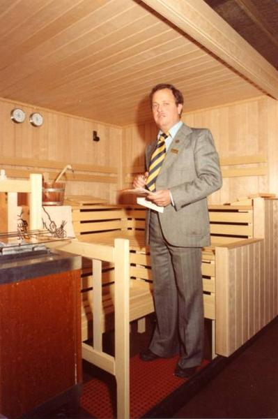 ein sauna pionier feiert seinen 80 geburtstag newsroom home ofp kommunikation. Black Bedroom Furniture Sets. Home Design Ideas