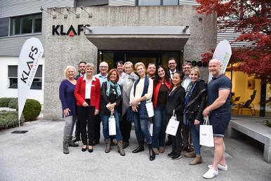Global Wellness Summit-Delegation zu Gast bei KLAFS